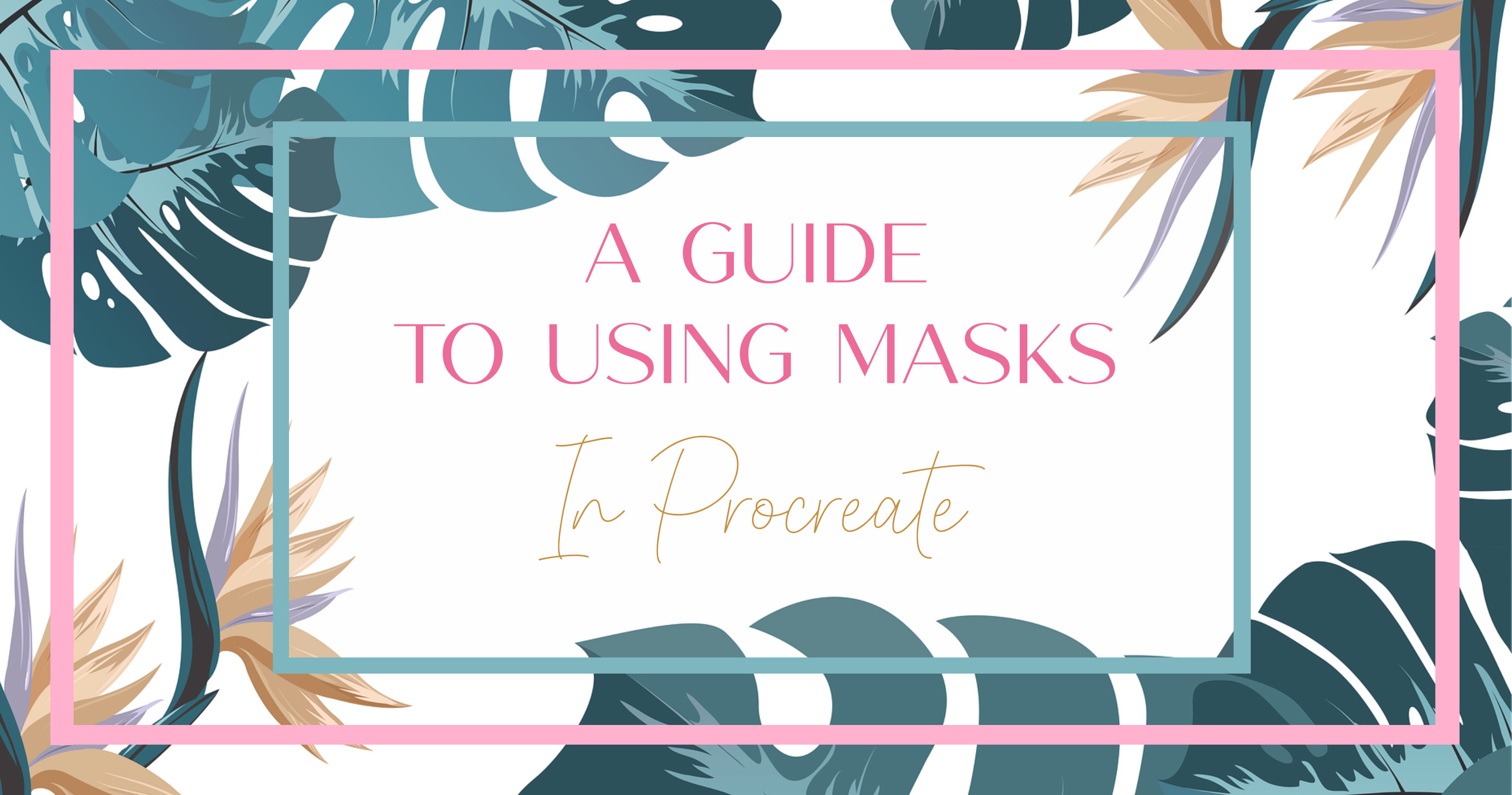 Procreate Masks: How to use Clipping Masks, Layer Masks and Alpha Lock main article image
