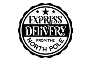 Express Delivery from the North Pole Christmas Craft Cut File By Creative Fabrica Crafts 2
