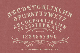 Print on Demand: Bistern Display Font By letterhend 5