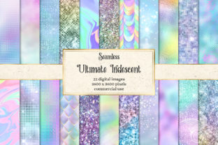 Print on Demand: Ultimate Iridescent Textures Graphic Textures By Digital Curio 1