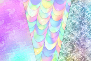 Print on Demand: Ultimate Iridescent Textures Graphic Textures By Digital Curio 3