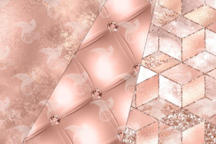 Print on Demand: Ultimate Rose Gold Textures Graphic Textures By Digital Curio 2