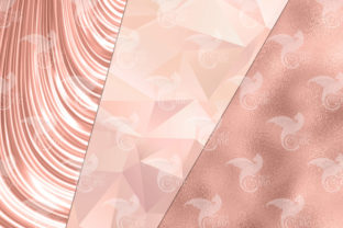 Print on Demand: Ultimate Rose Gold Textures Graphic Textures By Digital Curio 4