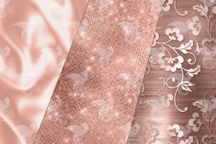 Print on Demand: Ultimate Rose Gold Textures Graphic Textures By Digital Curio 6