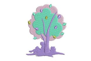 Reading Under a Tree Games & Leisure Embroidery Design By Embroidery Designs