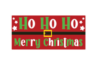 Ho Ho Ho Merry Christmas Door Sign Doors Signs Craft Cut File By Creative Fabrica Crafts