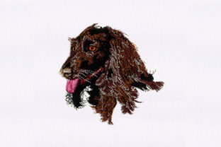 Afghan Hound Dog Dogs Embroidery Design By StitchersCorp