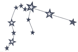 Aquarius Sign Constellation Inspirational Embroidery Design By ArtDigitalEmbroidery