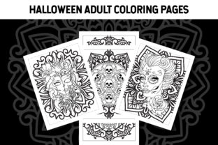 Halloween Adult Coloring Pages Graphic Coloring Pages & Books Adults By Artist Zone
