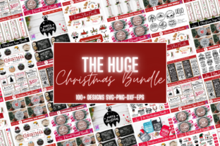The Huge Christmas Svg Bundle Graphic Crafts By Rumi Designed