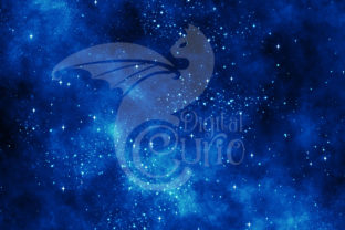 Print on Demand: Ultramarine Galaxy Backgrounds Graphic Textures By Digital Curio 2