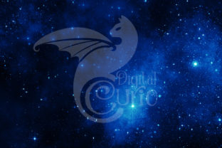 Print on Demand: Ultramarine Galaxy Backgrounds Graphic Textures By Digital Curio 4