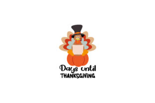 Counting Down to Thanksiving Thanksgiving Craft Cut File By Creative Fabrica Crafts 1