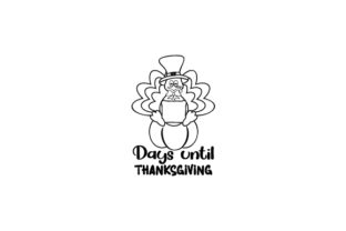 Counting Down to Thanksiving Thanksgiving Craft Cut File By Creative Fabrica Crafts 2