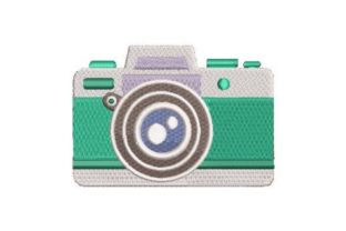 Camera Illustration House & Home Embroidery Design By Embroidery Designs