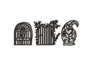 Fairy Doors Fairy Tales Embroidery Design By Embroidery Designs