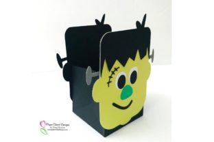 Print on Demand: Frankenstein Treat Box Graphic 3D Shapes By rushton_tracy