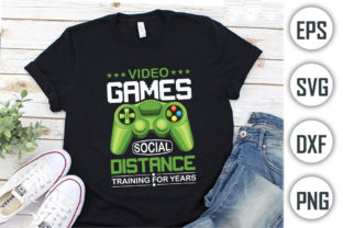 Gamer Quotes T-shirt Design, Video Games Graphic Print Templates By Alif Graphics