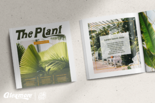 Print on Demand: Gleamore Display Font By glyphstyle 6