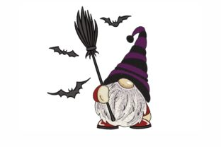 Halloween Gnome Halloween Embroidery Design By NinoEmbroidery
