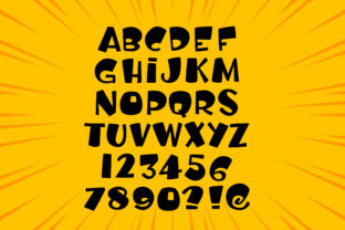Print on Demand: Rocky Baby Display Font By samgraphy.co 2
