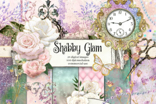 Print on Demand: Shabby Glam Graphics Graphic Illustrations By Digital Curio 1
