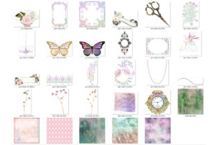 Print on Demand: Shabby Glam Graphics Graphic Illustrations By Digital Curio 7