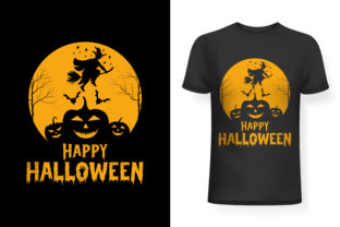 TShirt Design for Happy Halloween 2021 Graphic Print Templates By Golam Kader Riad