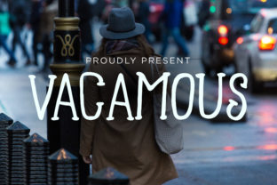 Print on Demand: Vacamous Display Font By storictype