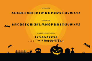 Print on Demand: Witchy Winky Display Font By Damn Studio 5