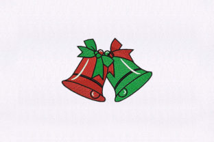 Church Bells Christmas Christmas Embroidery Design By StitchersCorp