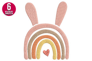 Print on Demand: Easter Rainbow Easter Embroidery Design By Nations Embroidery