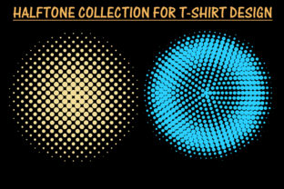 Print on Demand: Halftone for T-Shirt Design Graphic Patterns By T-Shirt Tees