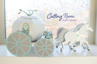 Magic Carriage Graphic 3D SVG By cuttingroomdesigns 1