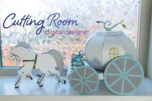 Magic Carriage Graphic 3D SVG By cuttingroomdesigns 2