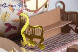 Magic Carriage Graphic 3D SVG By cuttingroomdesigns 9