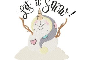 Snowman Christmas Embroidery Design By Thread Treasures Embroidery