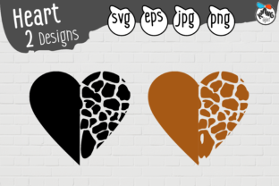 Print on Demand: Sublimation Animal Pattern, Love SVG Graphic Crafts By Kiang Stock Digiart
