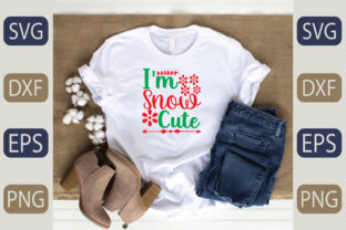 I'm Snow Cute Graphic Print Templates By fiverrservice1999