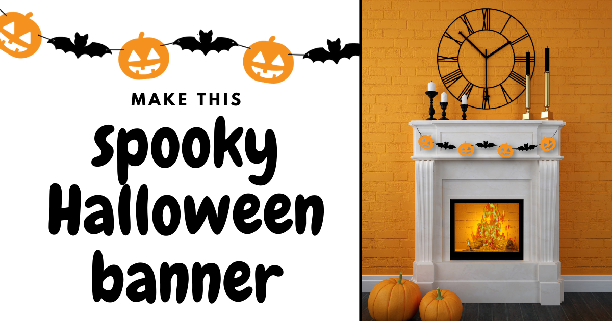 Make This Spooky Halloween Banner