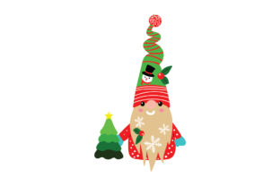 Christmas Gnome Christmas Craft Cut File By Creative Fabrica Crafts 1