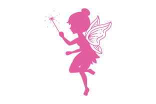 Fairy Silhouette Designs & Drawings Craft Cut File By Creative Fabrica Crafts 1