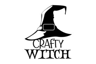Crafty Witch Halloween Craft Cut File By Creative Fabrica Crafts 2