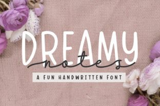Print on Demand: Dreamy Notes Duo Script & Handwritten Font By Subectype 1