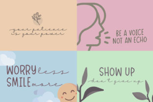 Print on Demand: Dreamy Notes Duo Script & Handwritten Font By Subectype 6