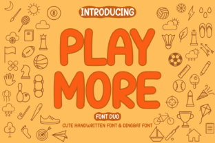 Print on Demand: Play More Dingbats Font By Rydmaker (7NTypes)