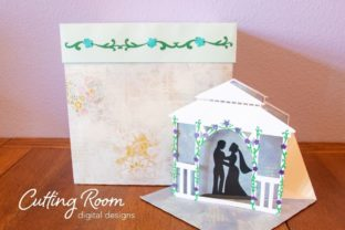 Wedding Card and Gift Box Graphic 3D SVG By cuttingroomdesigns