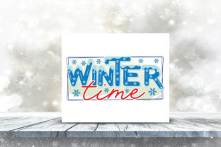 Winter Sublimation Bundle Graphic Crafts By CraftlabSVG 13
