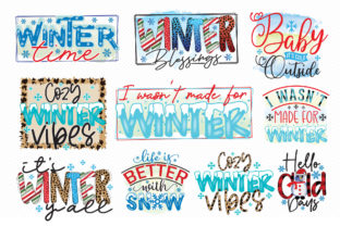 Winter Sublimation Bundle Graphic Crafts By CraftlabSVG 2