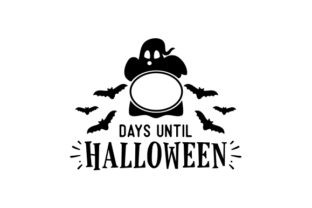 Counting Down to Halloween Halloween Craft Cut File By Creative Fabrica Crafts 2